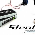 Pedal para Guitarra com Interface USB