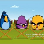 Angry Birds no comercial do Google Chrome